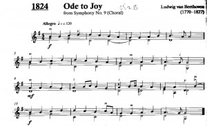 Beethoven Ode to Joy (from Symphony No. 9)